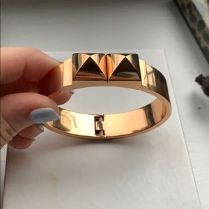 Michael kora bracelet rose gold